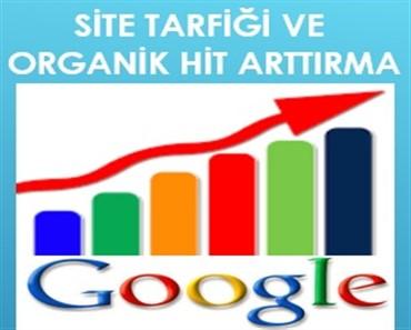 site trafiği arttırma ve organik hit arttırma