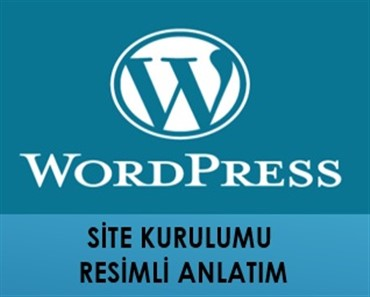 wordpress site kurulumu