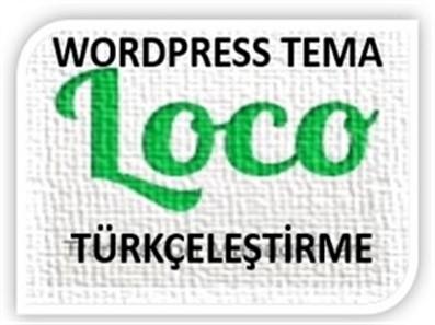 Wordpress tema Türkçeleştirme