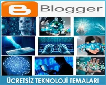 Ücretsiz Blogger teknoloji temaları
