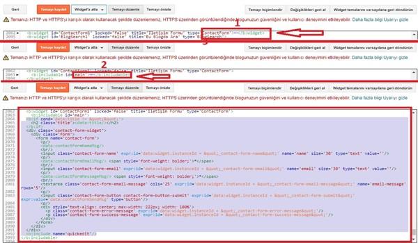 Blogger tema kodları