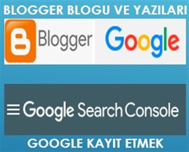 Blogger Blogu Google Kayıt Etmek