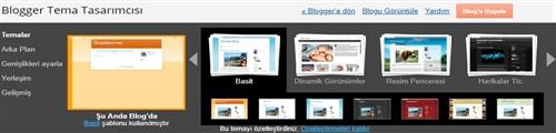 Blogger Tema arka plan Düzenleme