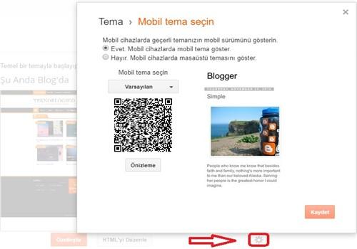 Blog mobil ayar
