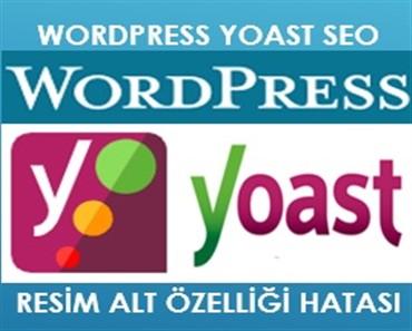 Wordpress Yoast Seo Resim Alt Özelliği Hatası