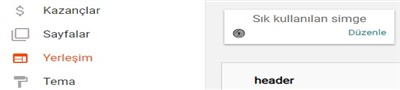 blogger site ikonu ekleme