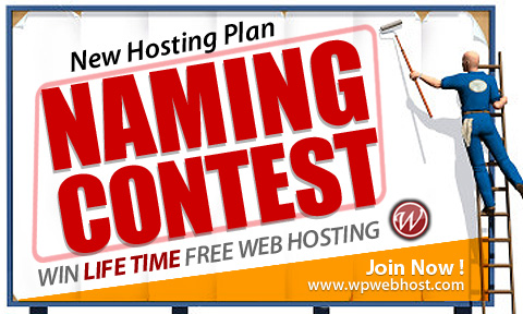 WPWebHost New Hosting Plan Naming Contest