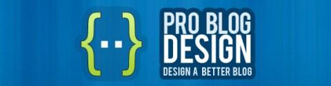Pro Blog desgin