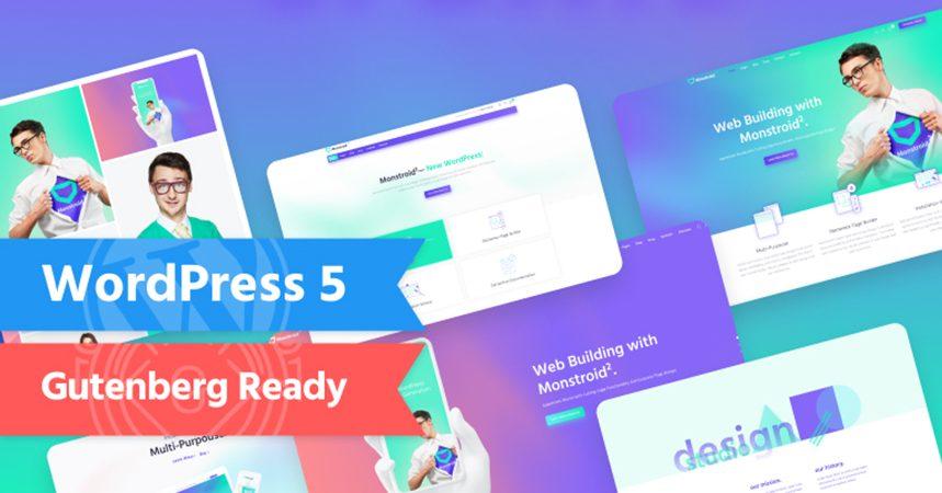 Choose the Best WordPress Theme for your WordPress 5.0 Website