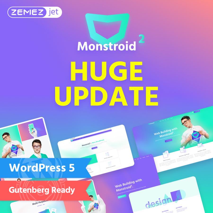 Monstroid2 - Multipurpose Modular Elementor WordPress Theme WordPress Theme