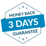 3 days money back guarantee