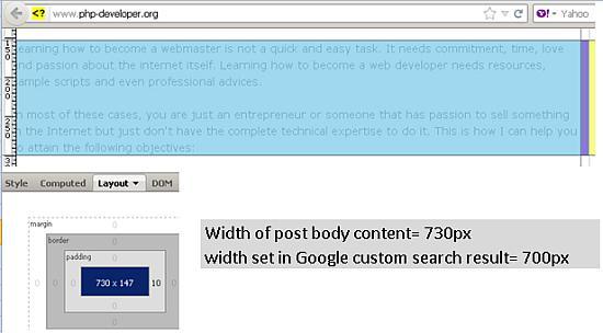 Integrating Google Custom Search to WordPress