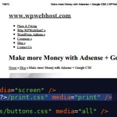 Create a print friendly WordPress website - WPWebHost