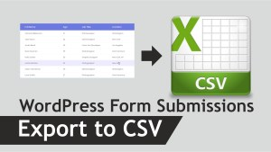 How to Automatically Export WordPress Form Submissions to CSV