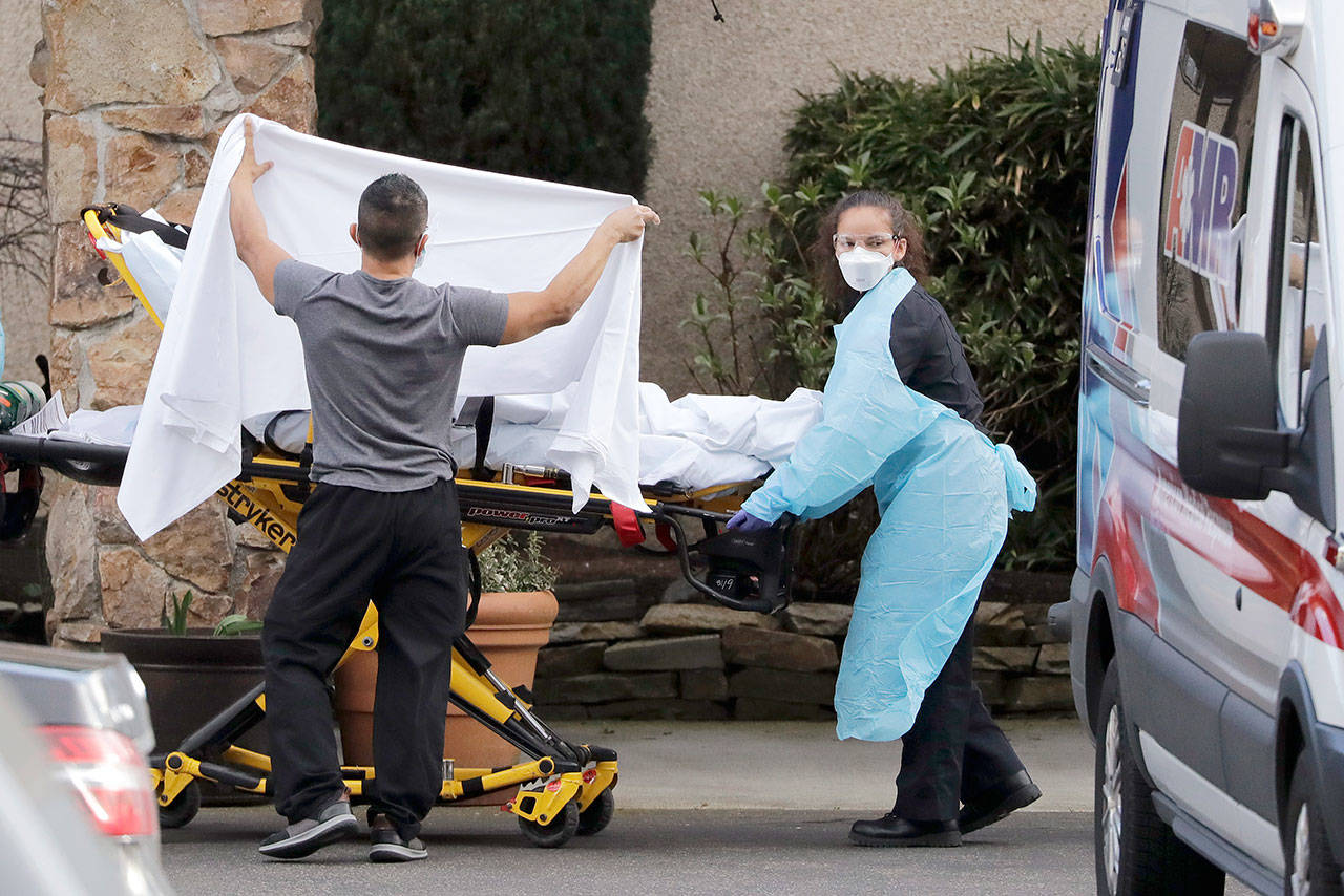 COVID-19 death in Kirkland first in U.S.   Peninsula Daily ... on Life Care Center Of Kirkland id=62335