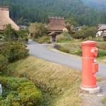 スーパーカブ110で京都府かやぶきの里、日吉ダム、長谷の棚田へツーリングっ!
