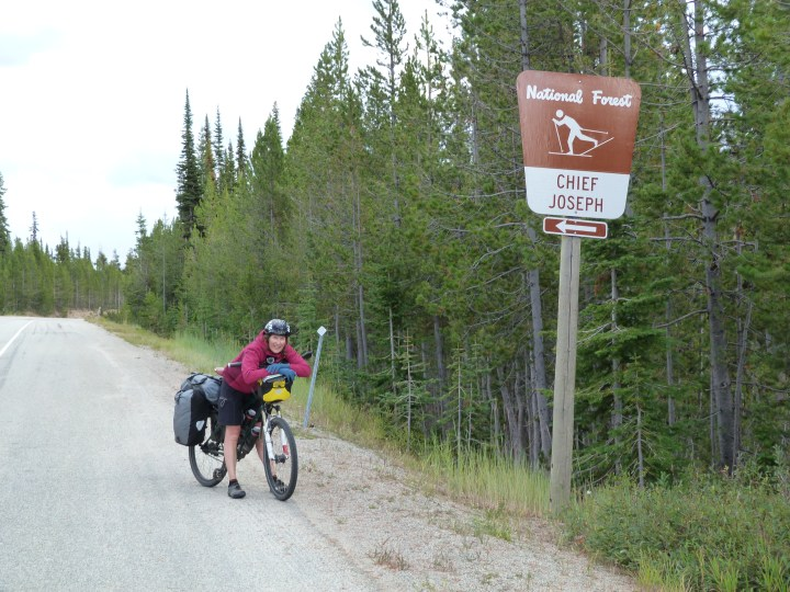 Finally, made it to the top of the pass and crossed the Continental Divide