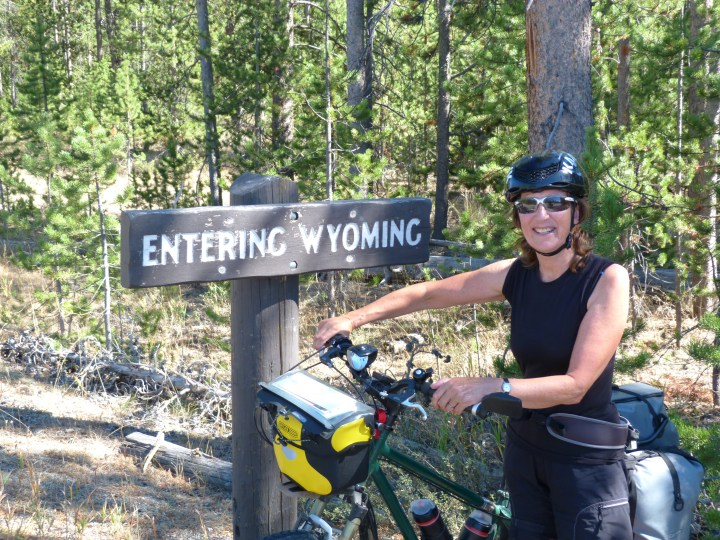 Leaving Montana and entering Wyoming