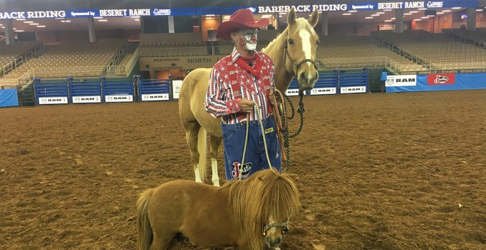 The Rodeo Man Who Hangs Out in a Coors Can