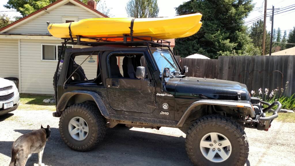 kayak mounting options jeep wrangler