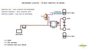 Wiring Backup Lights, control circuit(s)   Jeep Wrangler