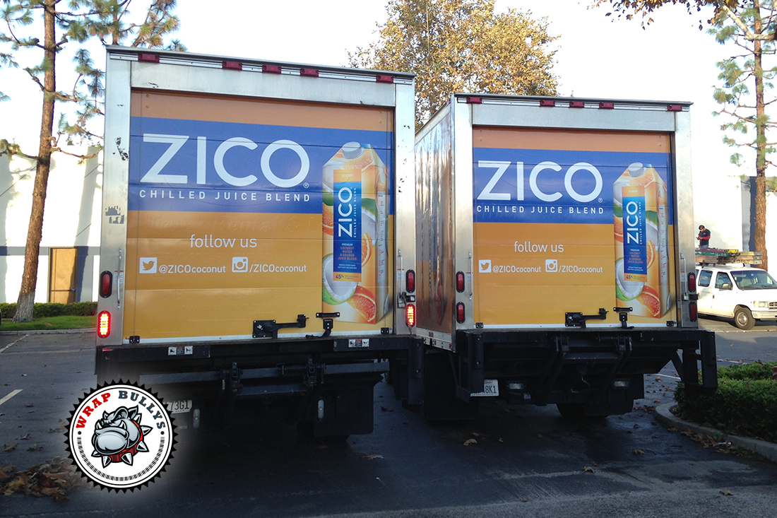 Custom Box Truck Wrap | Graphic Wraps