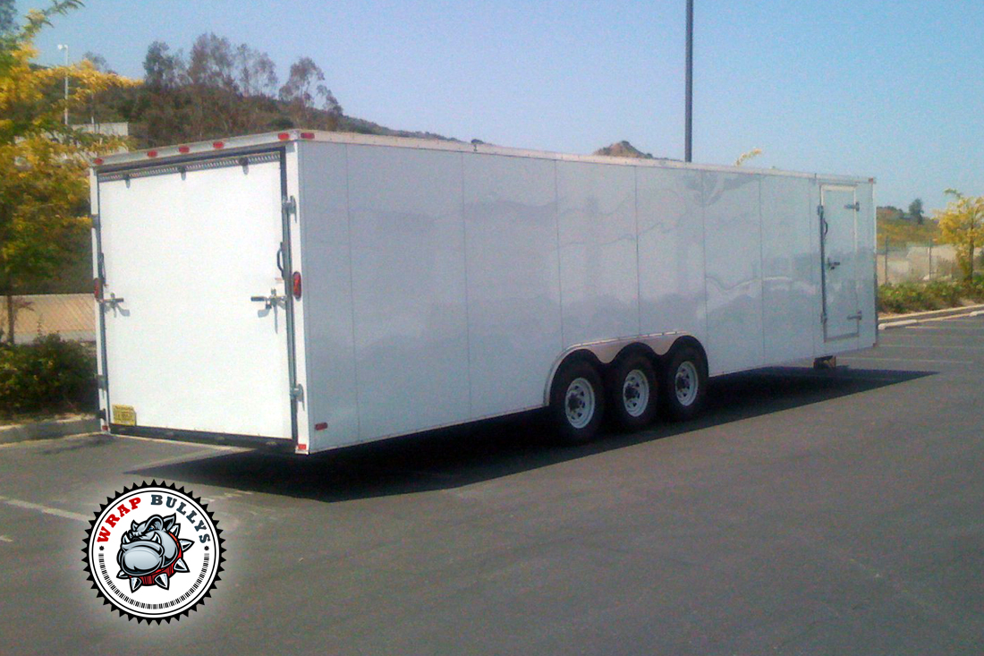 Custom Trailer Wraps by WrapBullys. Call us today to get started on your trailer wrap.