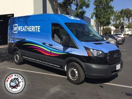 Weatherite Ford Transit Van Wrap