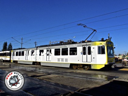 Los Angeles Metro Rail Fleet Graphic Wrap
