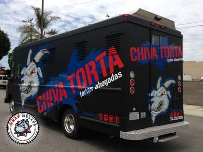 Chiva Tortas Food Truck Wrap