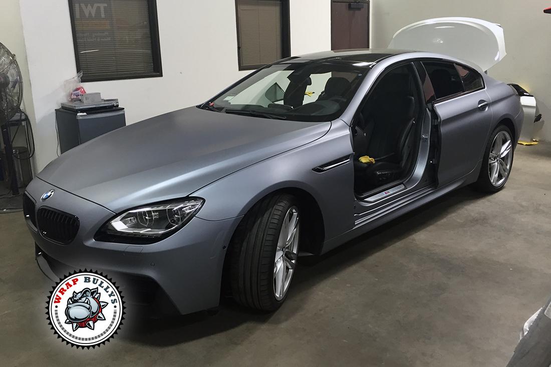 Matte Silver BMW Gran Coupe M6