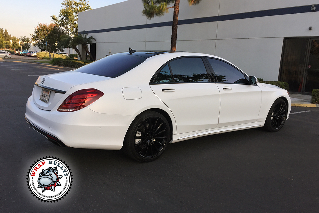 Custom satin white wrap. Call today for pricing.