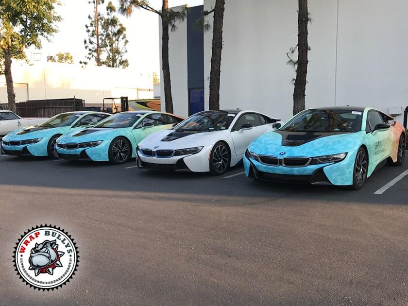 Road to Coachella BMW i8 Car Wrap