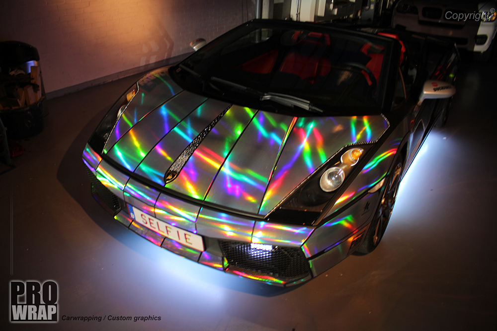 Prowrap S Selfie Car Holographic Wrap Wrapfolio