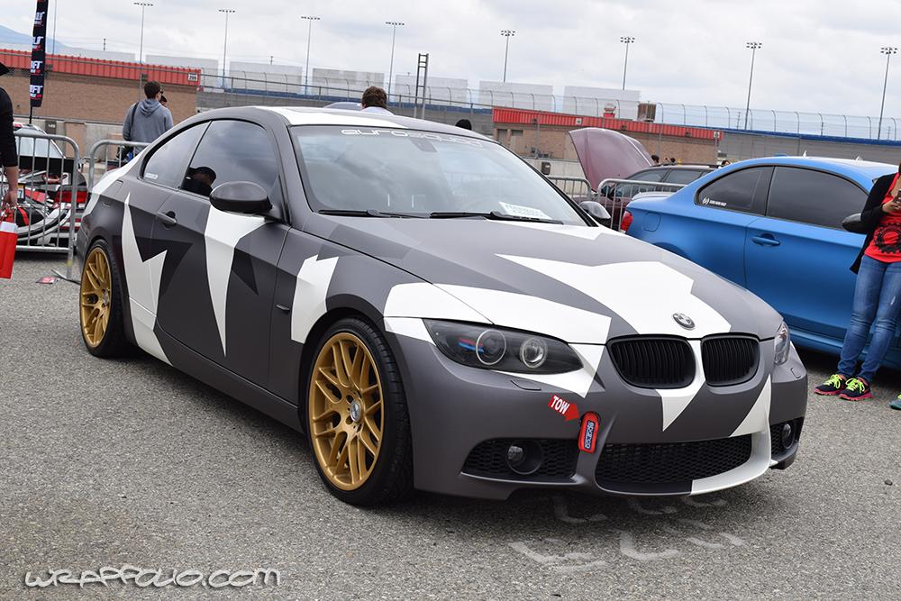 BMW 335I Convertible >> Urban Camo E92 | Wrapfolio