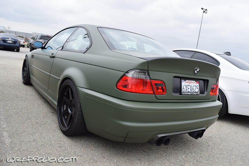 Military Green M3 Wrap Wrapfolio