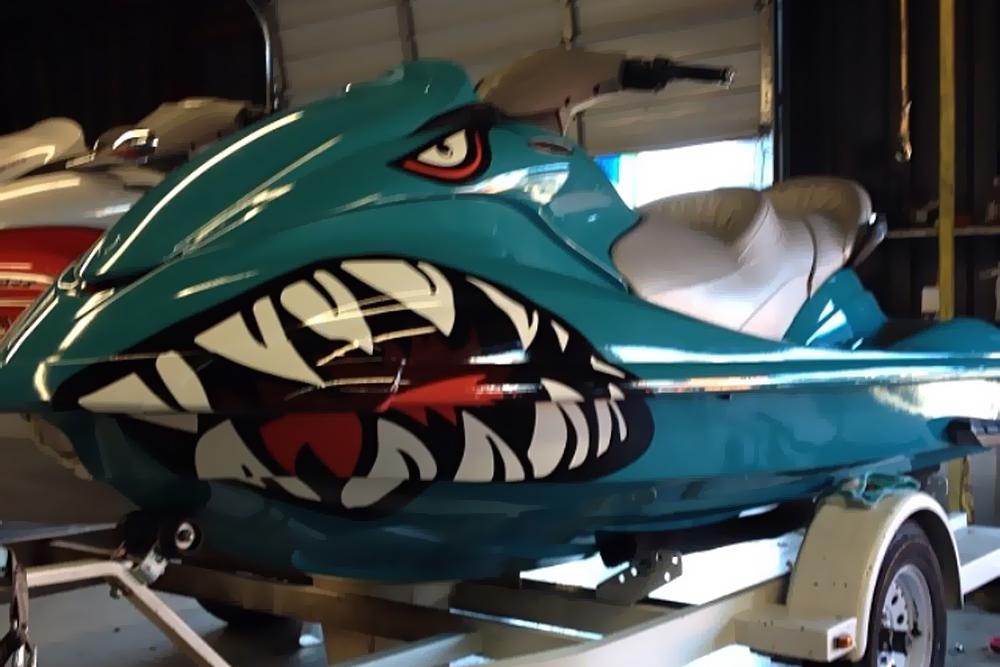 Shark Jetski Wrap Wrapfolio