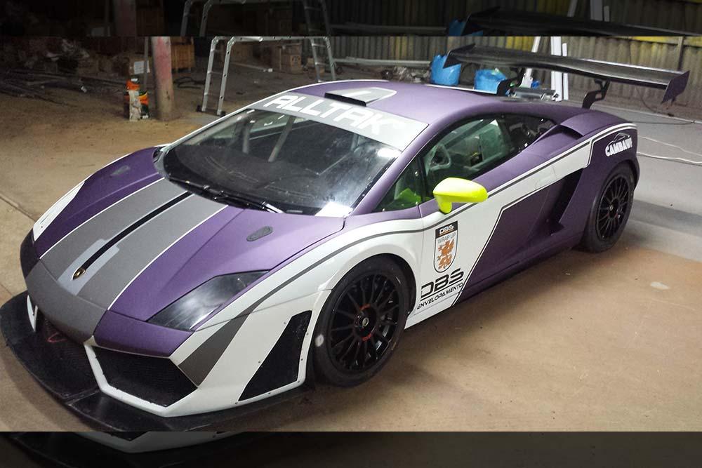 Alltak Lamborghini Gallardo Wrap Wrapfolio