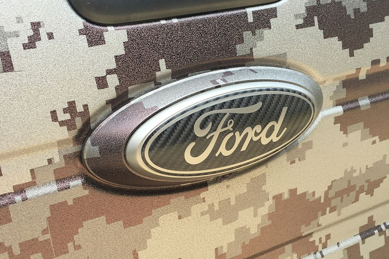 Ford Raptor Digital Camo Wrap Wrapfolio