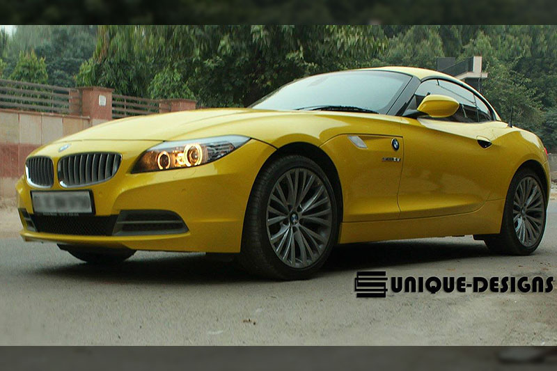 Gloss Yellow Z4 Wrap Wrapfolio