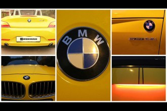 Avery Dennison Gloss Yellow Z4 Wrap