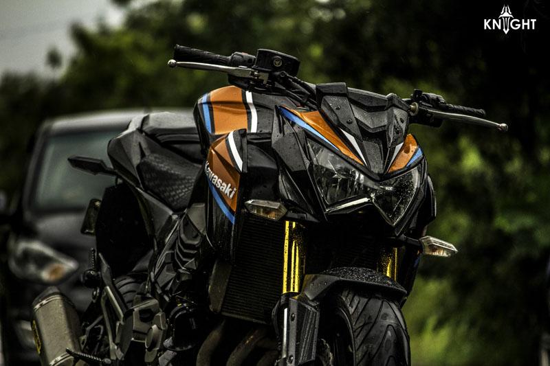 Kawasaki Z800 Wrap Wrapfolio