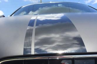 Matte Deep Black Audi R8 Wrap