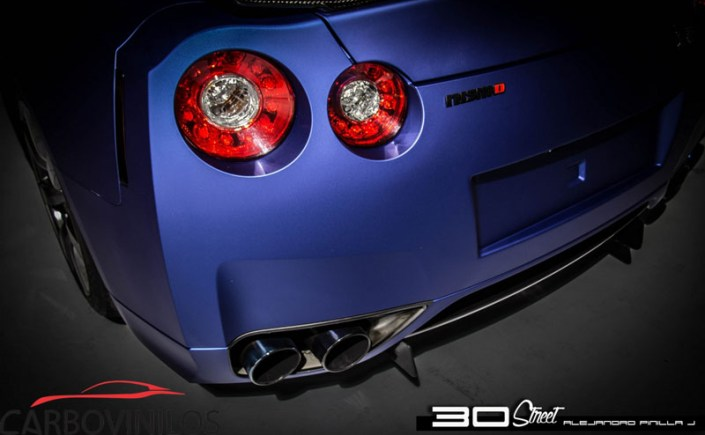 Arlon Deep Ocean GTR Wrap