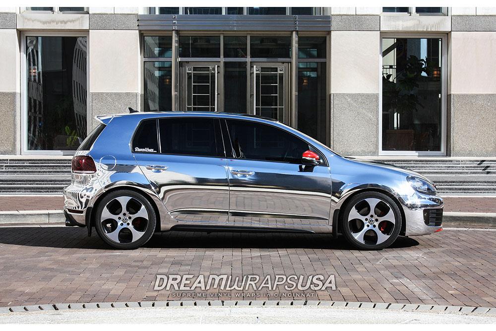 Arlon Chrome VW Mk6 GTI | Wrapfolio
