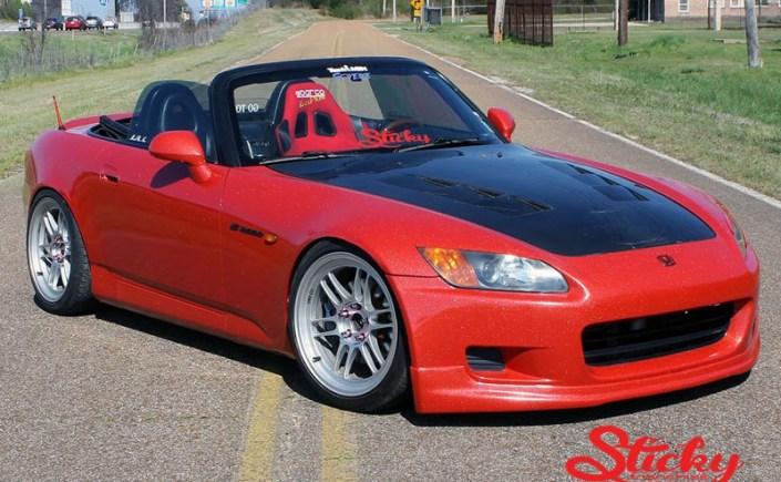 Avery Diamond Red S2000 Wrap