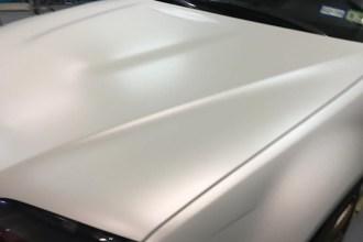Satin Pearl White E46 M3 Wrap