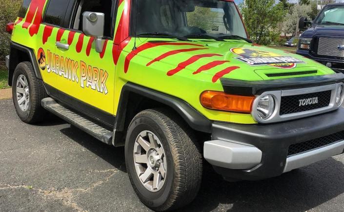 FJ Cruiser Jurassic Park Wrap