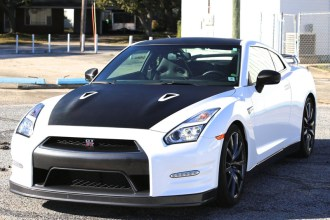 Gloss White GTR Wrap