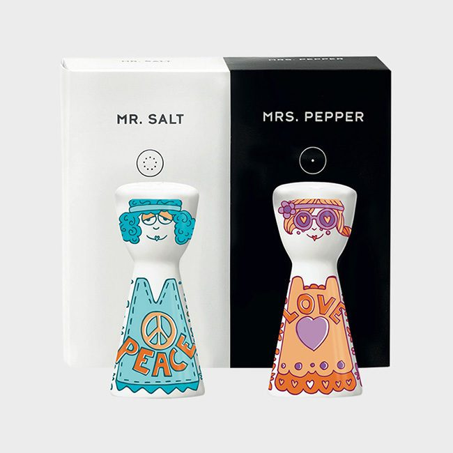 Mr Salt Mrs Pepper Wrapistry
